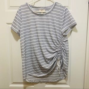 Style & Co T-Shirt with Synching at the Waist
